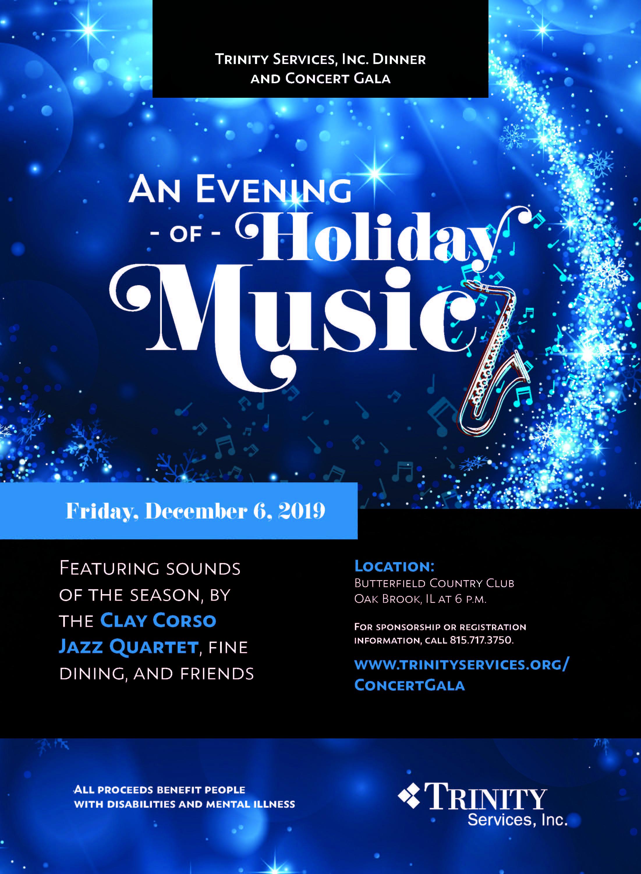 Concert Gala 2019 Flyer