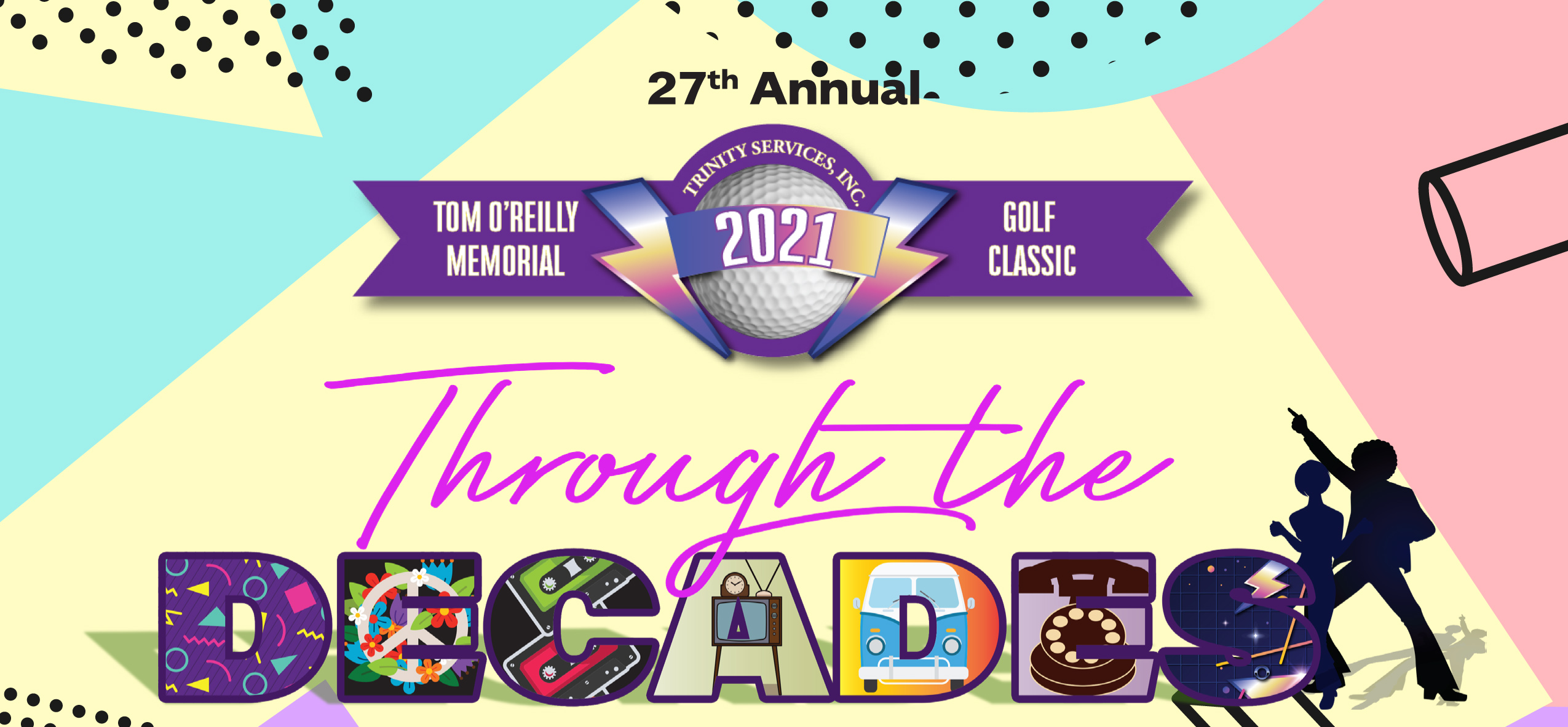 Through the Decades Event Banner