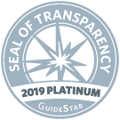 Seal of Transparency 2019 Platinum GuideStar