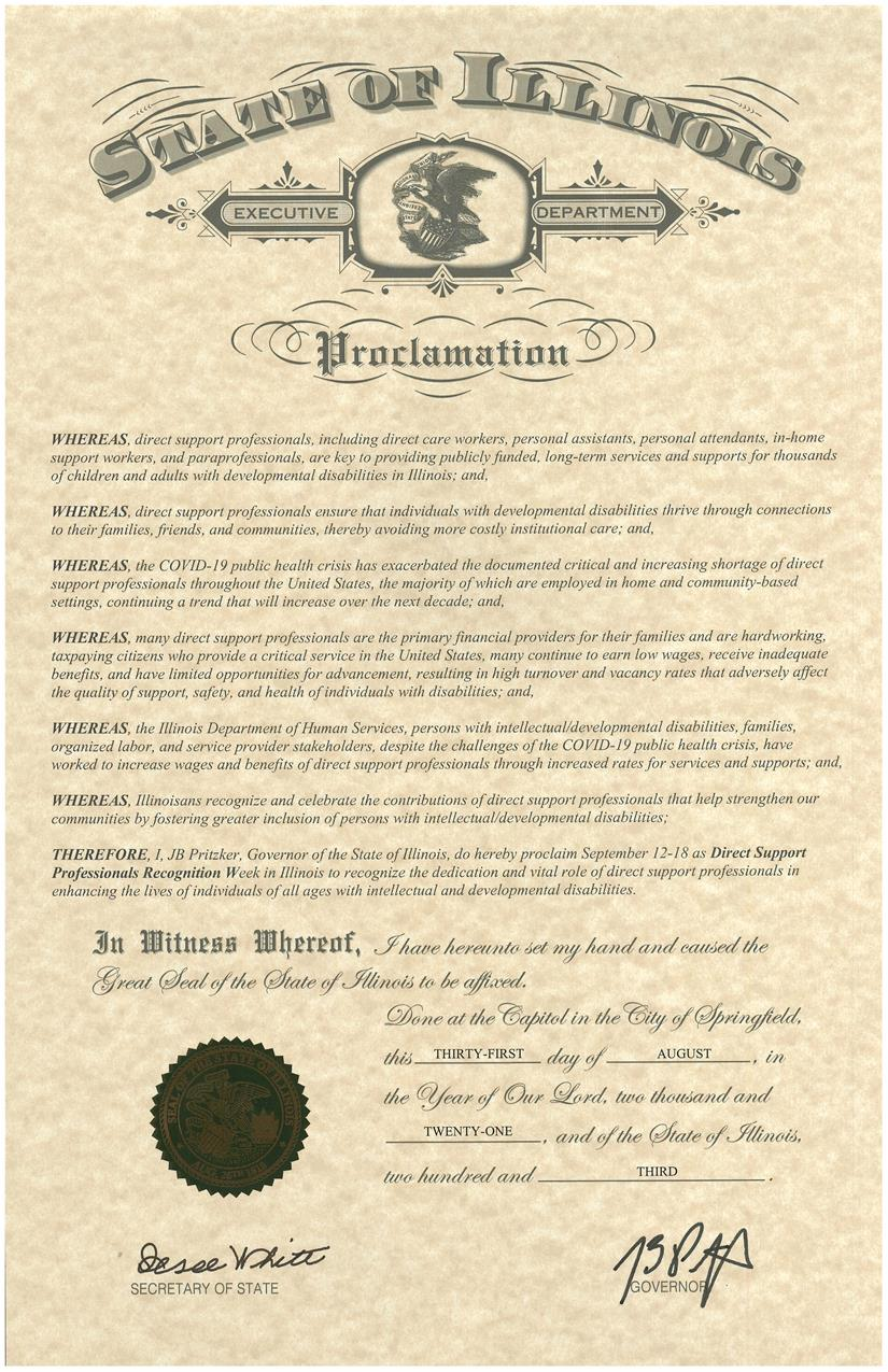 DSP Recognition Week Proclamation