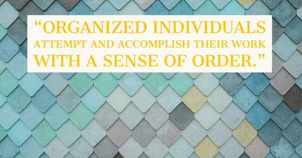 A Positive Relationship to the Self: Personal Organization