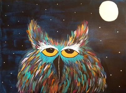 Paint Night Owl