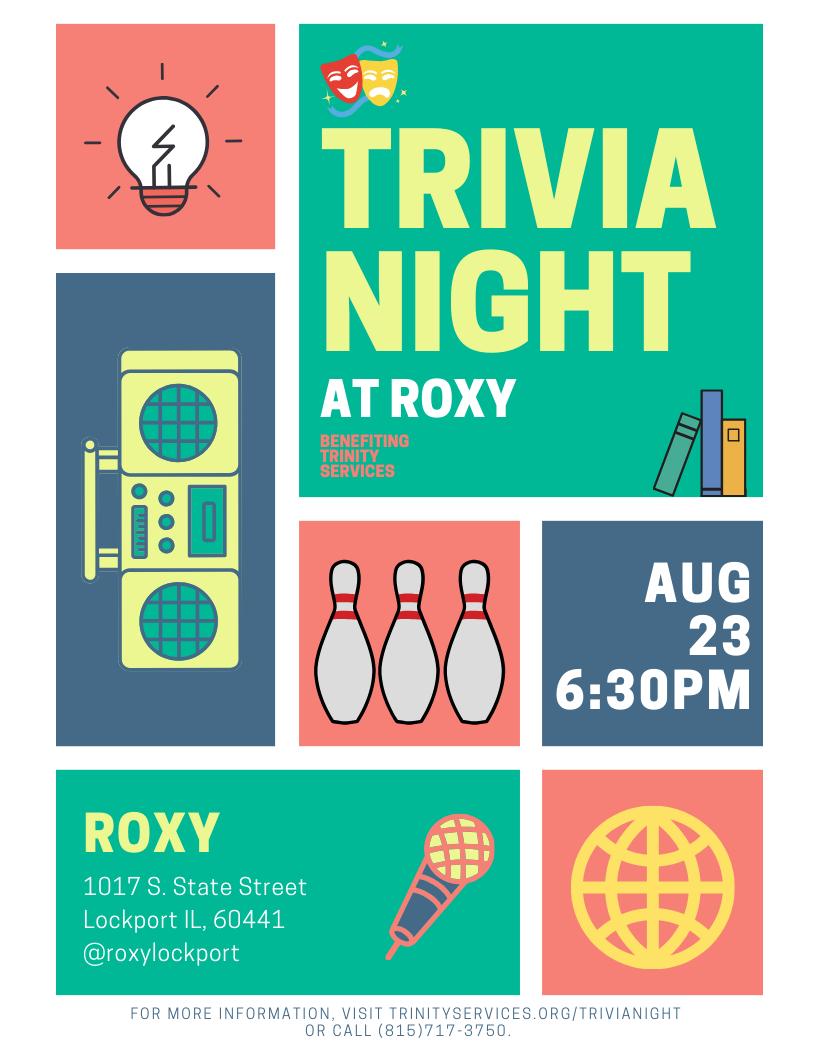 Trivia Night Flyer 2019